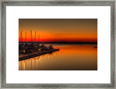 The Calm Framed Print by Serge Skiba