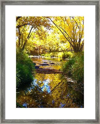The Calm Side Framed Print