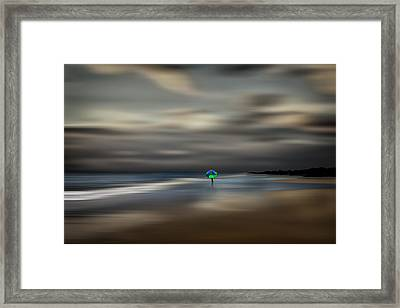The Calming Sea Framed Print