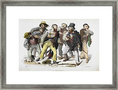 The Camorra Framed Print by British Library