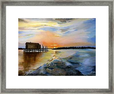 The Camp Framed Print