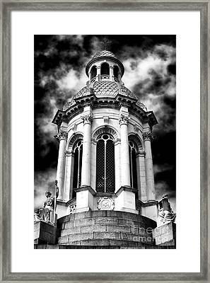 The Campanile Of Trinity College Framed Print by John Rizzuto