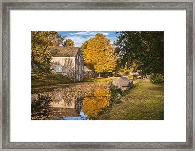 The Canal Explorer Framed Print
