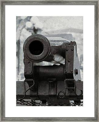 The Cannon Framed Print by Ernie Echols