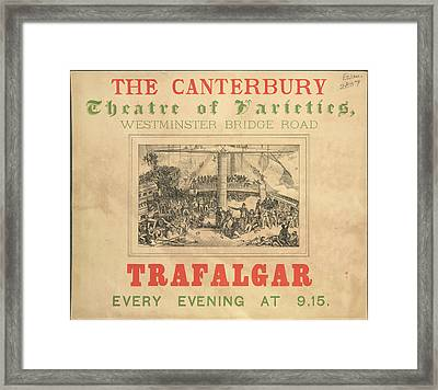 The Canterbury Framed Print by British Library
