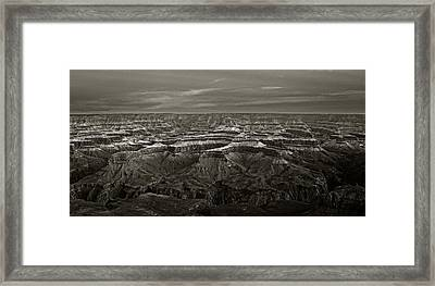 The Canyon 1 Framed Print by Thomas Born