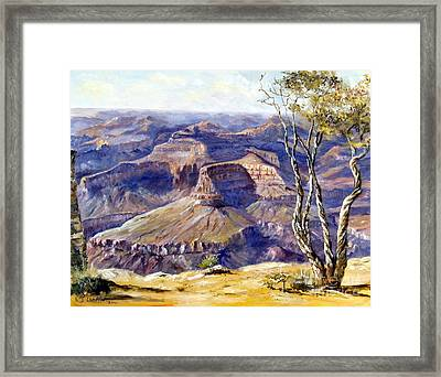 The Canyon Framed Print