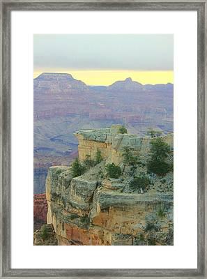 The Canyon Sunrise Framed Print by Douglas Miller