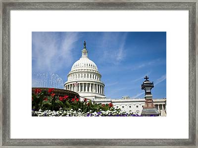 The Capitol Framed Print