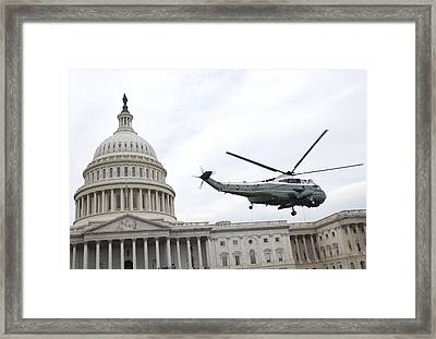 The Capitol Framed Print by JP Tripp