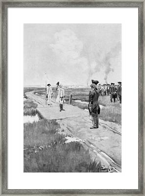 The Capitulation Of Louisbourg, Illustration From Colonies And Nation By Woodrow Wilson, Pub Framed Print