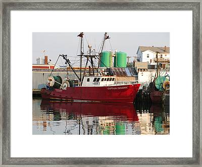 The Captain Dominic Framed Print