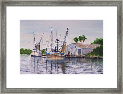 The Captain Gordon Framed Print
