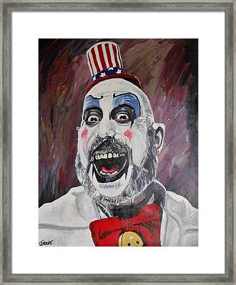 The Captain Framed Print by Jeremy Moore