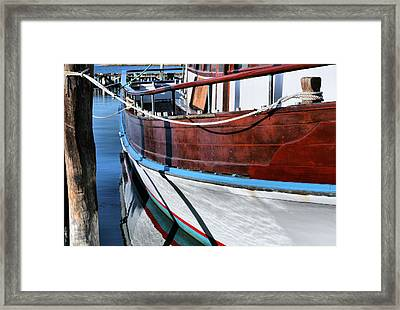 The Captain Rod Framed Print by JC Findley