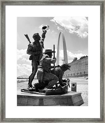 The Captains' Return Framed Print