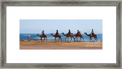 The Caravan Framed Print by Hannes Cmarits