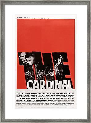The Cardinal, Us Poster Art, Left Tom Framed Print by Everett