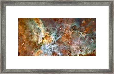 The Carina Nebula Framed Print