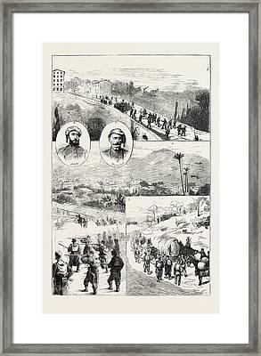 The Carlist War In Spain 1. The Inhabitants And Volunteers Framed Print