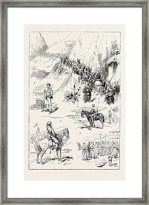 The Carlist War In The North Framed Print by Spanish School