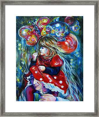 The Carnival Little Princess Framed Print