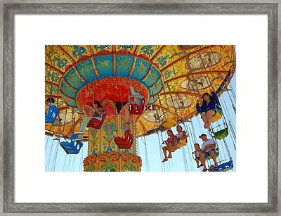 Framed Print featuring the photograph The Carnival by Tamyra Crossley