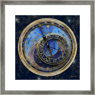 The Carousel Of Time Framed Print