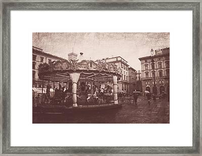 The Carousel  Framed Print by Steven  Taylor
