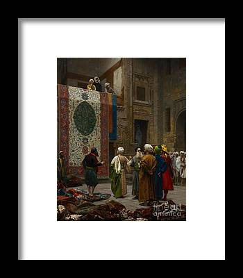 Tapestries Textiles Framed Prints