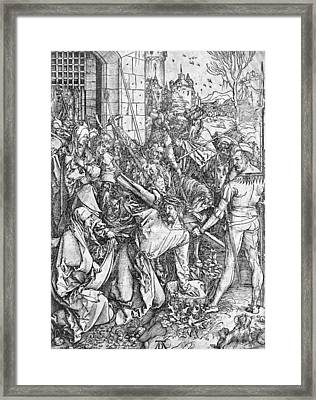 The Carrying Of The Cross Framed Print by Albrecht Durer or Duerer