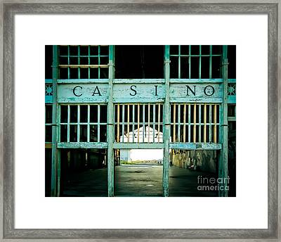 The Casino Framed Print by Colleen Kammerer