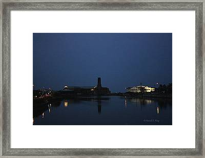 The Casino Framed Print by Russell  King