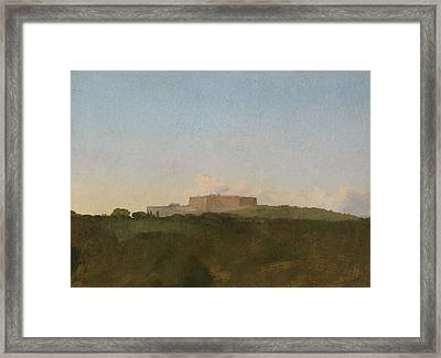 The Castel Santelmo, Naples Framed Print