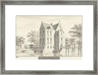 The Castle Enspijk, Gelderland The Netherlands Framed Print