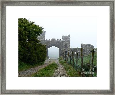 The Castle Gate Framed Print by Butch Lombardi