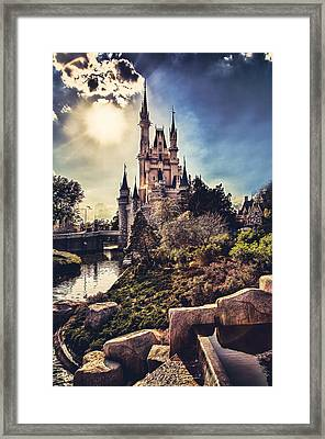 Framed Print featuring the photograph The Castle by Joshua Minso