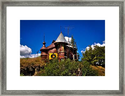 The Castle Made Out Of Junk Framed Print