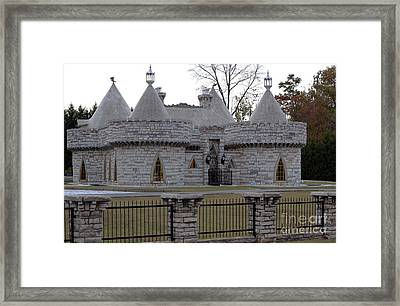 The Castle Framed Print by Michael Waters