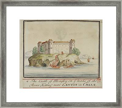 The Castle Of Mongley Framed Print