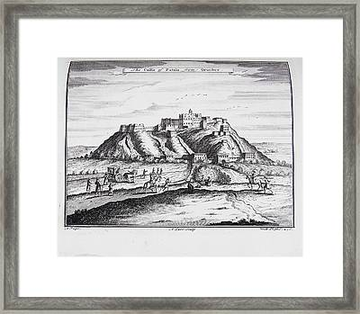 The Castle Of Putala Framed Print by British Library