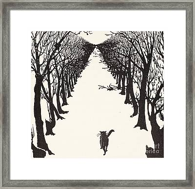 The Cat That Walked By Himself Framed Print by Rudyard Kipling