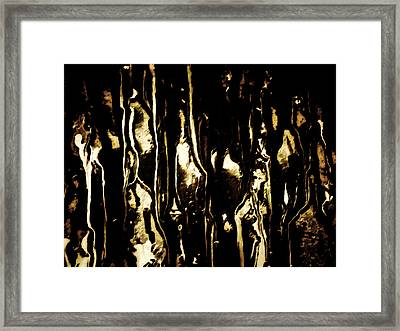 The Catacombs Of Hell Framed Print