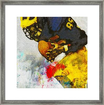 The Catch The Hands Framed Print