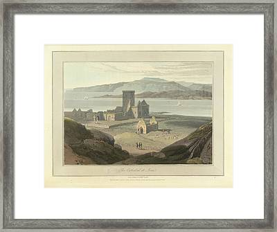 The Cathedral At Iona Framed Print