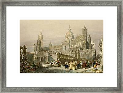 The Cathedral At Palermo, Sicily Framed Print