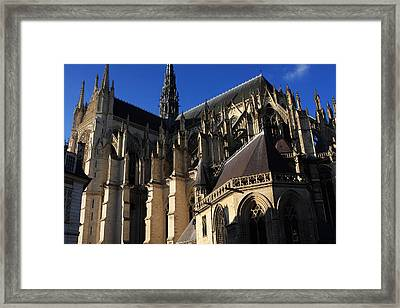 The Cathedral Basilica -  Amiens - France Framed Print