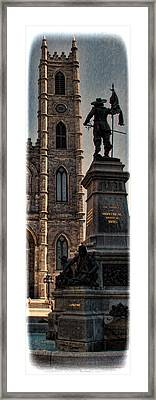 The Cathedral-basilica Of Mary Queen Of The World  Framed Print