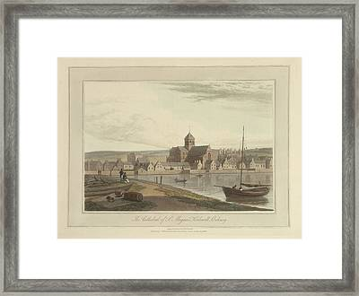 The Cathedral Of St. Magnus Framed Print by British Library