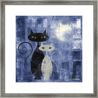 The Cats Framed Print by Jelena Jovanovic